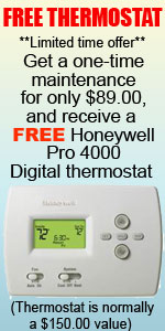Patterson Heating & Air - FREE thermostat offer